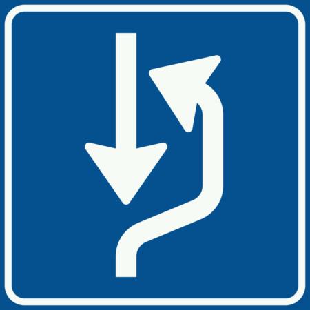 L20 Uitwijkplaats rechts van de weg